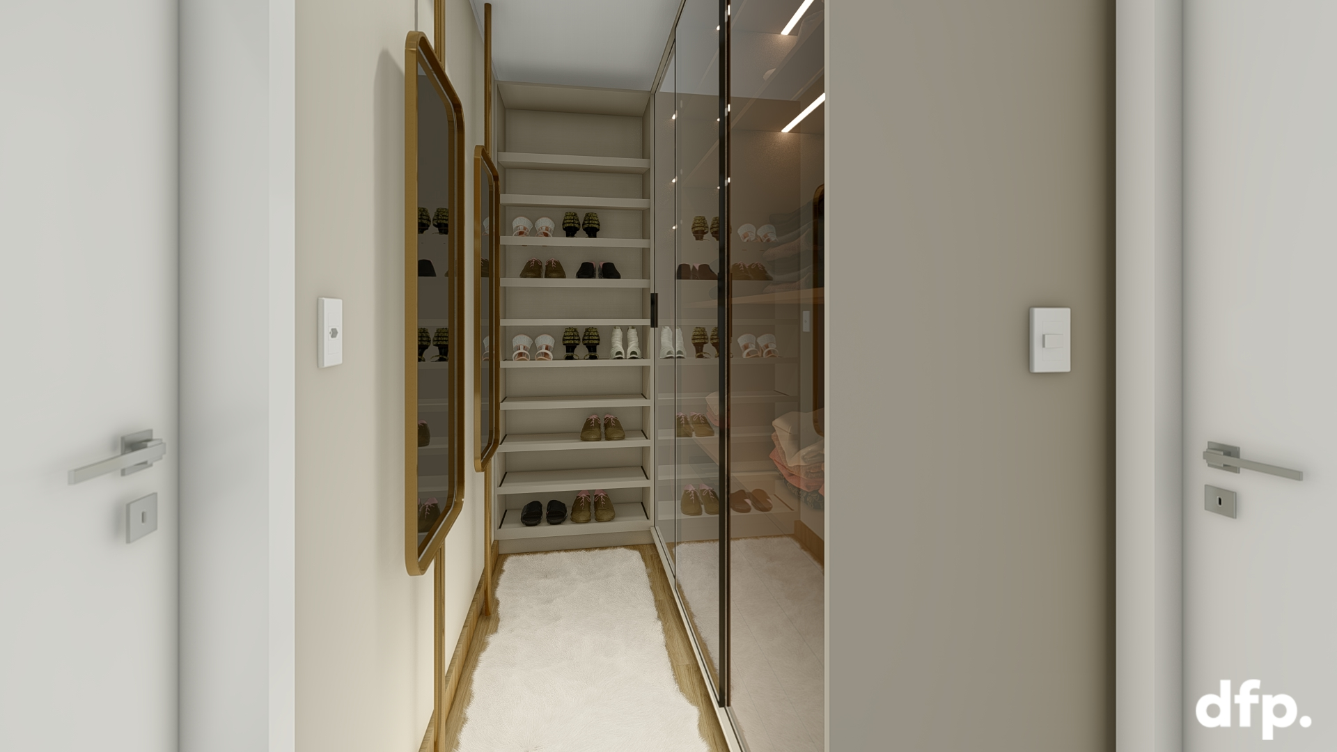 Dormitório Casal – Closet E Suite 11