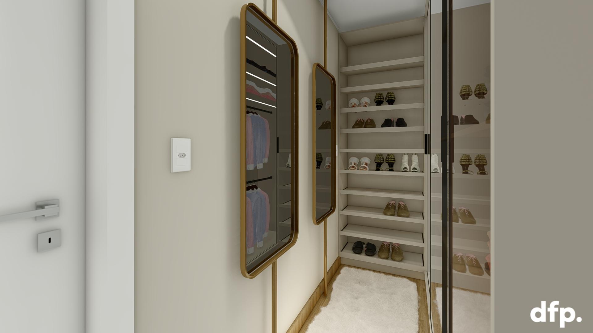 Dormitório Casal – Closet E Suite 13