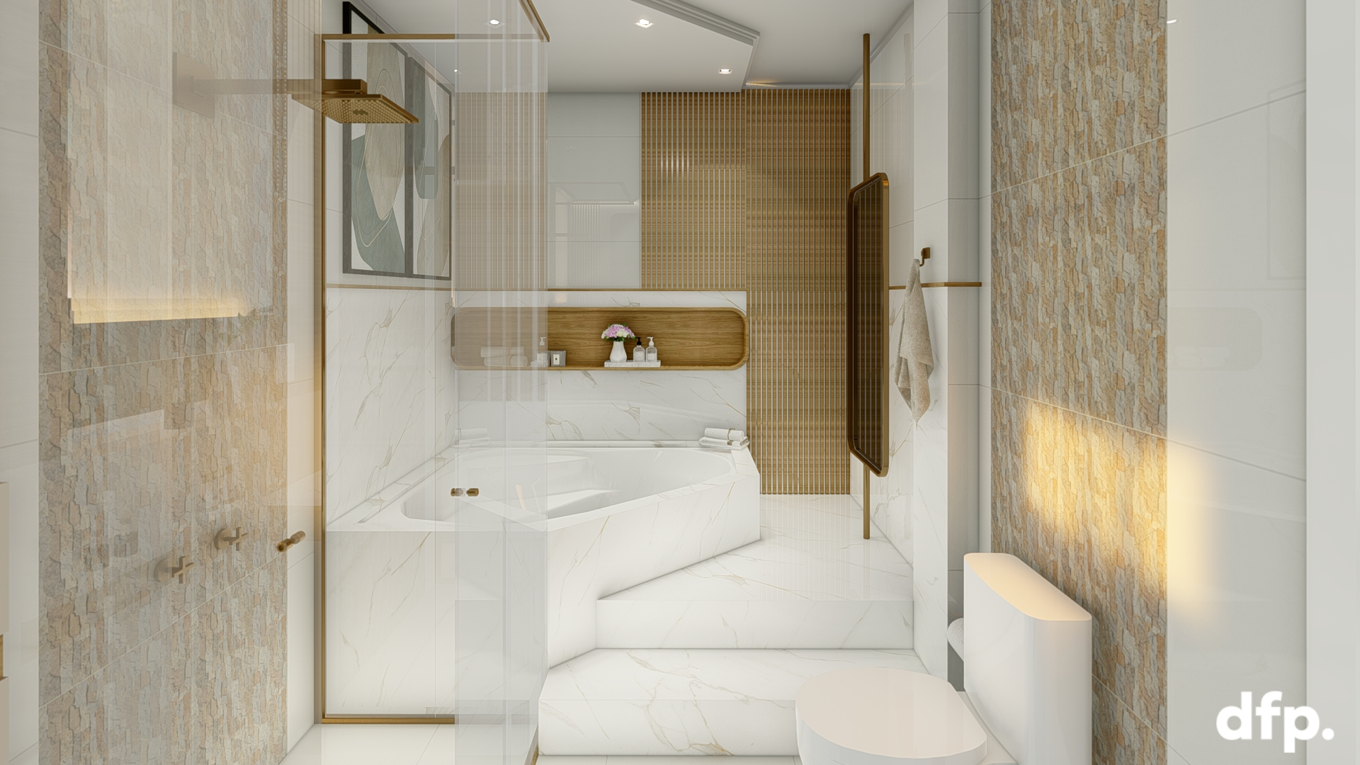 Dormitório Casal – Closet E Suite 15