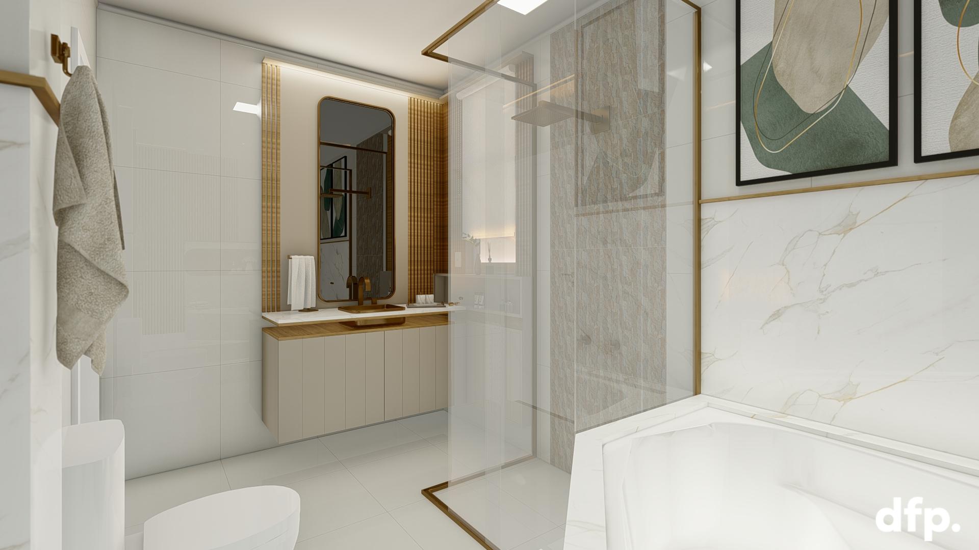 Dormitório Casal – Closet E Suite 17